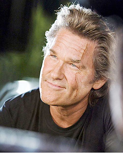 Stuntman Mike (Kurt Russell in Death Proof) smiling