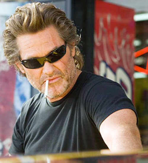 Stuntman Mike (Kurt Russell in Death Proof) with sunglasses