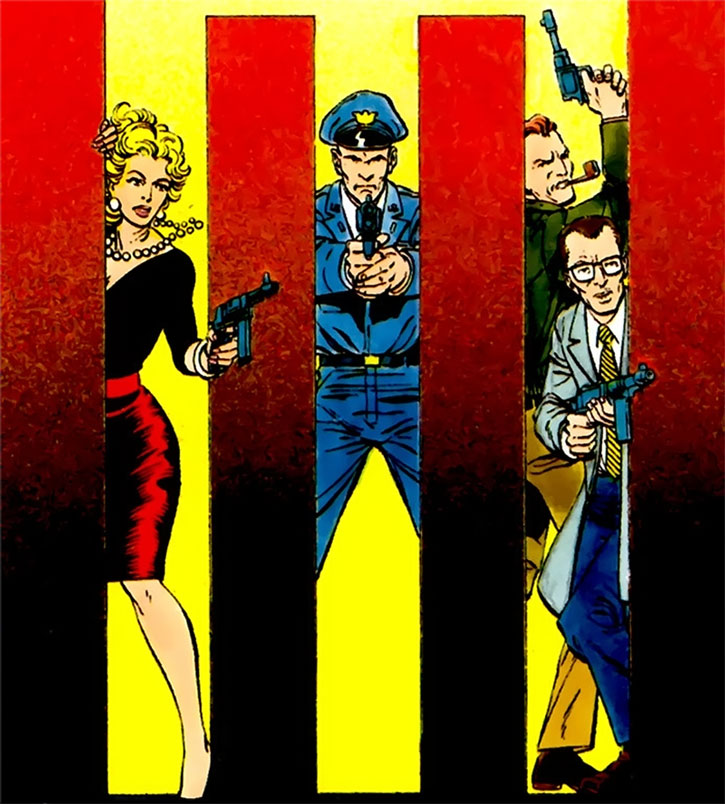 The Silver Age Suicide Squad by George Perez