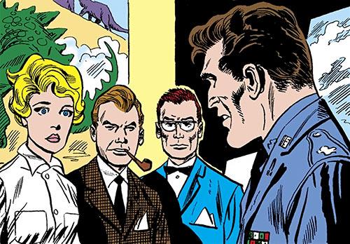 Suicide Squad (Mission X) (Pre-Crisis DC Comics) discussing
