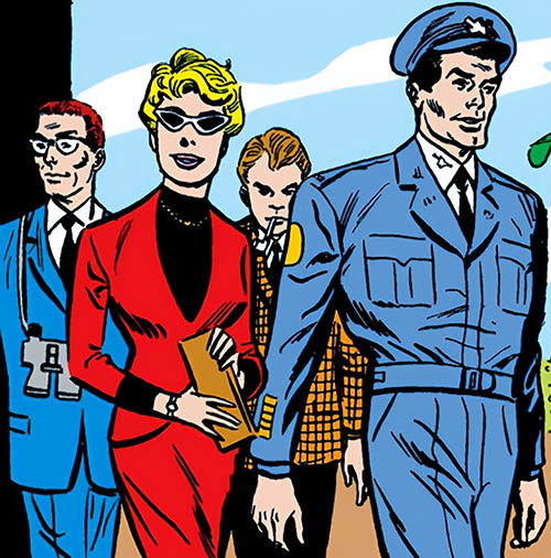 Suicide Squad (Mission X) (Pre-Crisis DC Comics) as tourists
