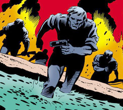 Suicide Squadron (DC Comics) soldiers progressing