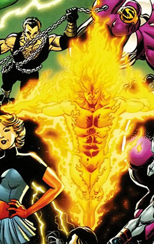 Sun Emperor (Legion of Super-Heroes enemy) (DC Comics) modern art