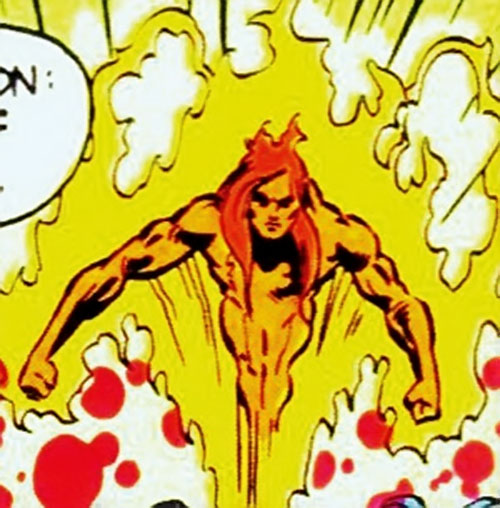 Sun Emperor (Legion of Super-Heroes enemy) (DC Comics) flying