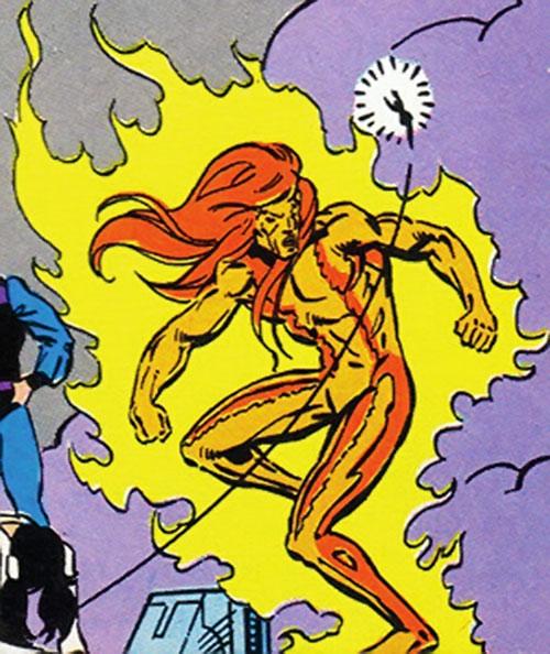 Sun Emperor (Legion of Super-Heroes enemy) (DC Comics) vs. Shrinking Violet