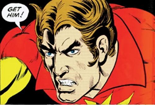 Sun Emperor (Legion of Super-Heroes enemy) (DC Comics) old look