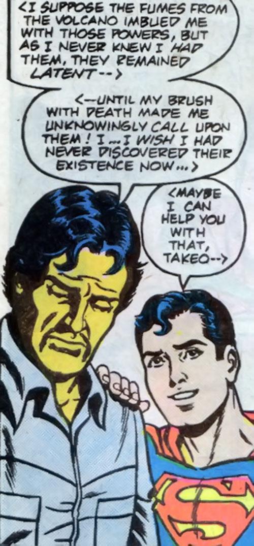 Sunburst (Superboy character) (DC Comics) out of costume