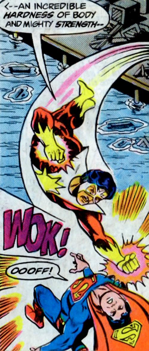 Sunburst (DC Comics) vs. Superboy