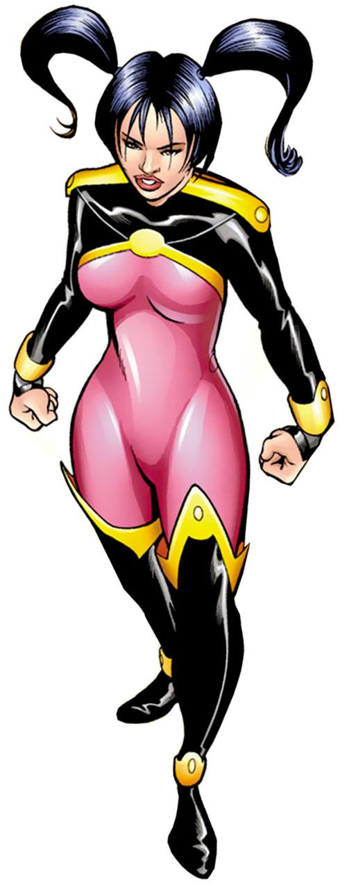 Sunfire (Mariko Yashida) from the Exiles (Marvel Comics)