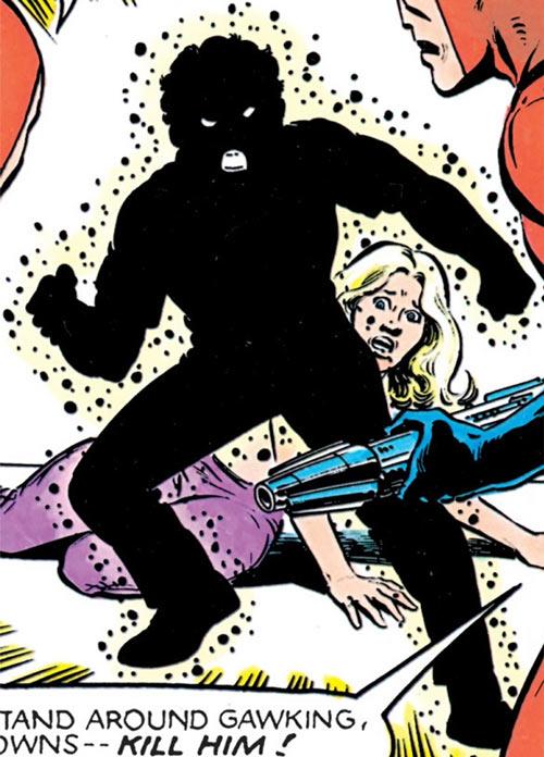 Sunspot of the New Mutants (Marvel Comics) (Earliest) with Juliana Sandoval