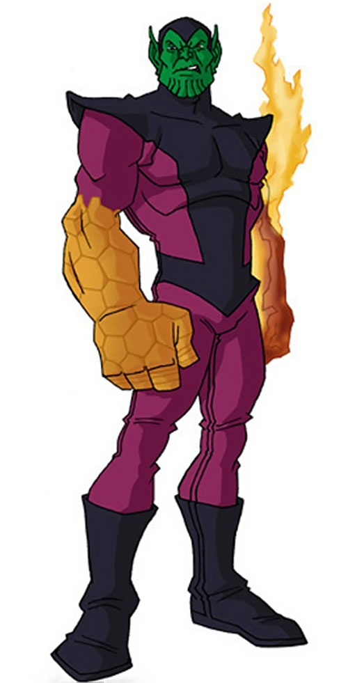Super-Skrull (Fantastic 4 enemy) (Marvel Comics) by RonnieThunderbolts 1/2