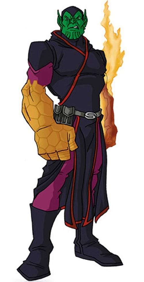 Super-Skrull (Fantastic 4 enemy) (Marvel Comics) by RonnieThunderbolts 2/2