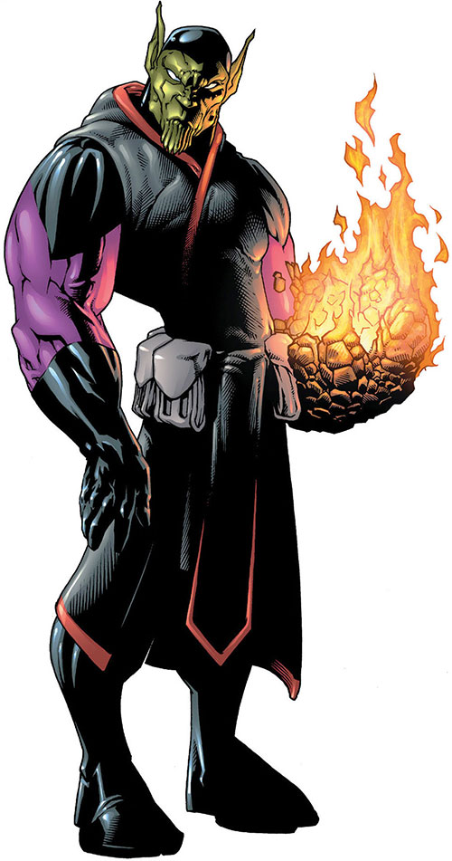 Super-Skrull (Fantastic 4 enemy) (Marvel Comics)