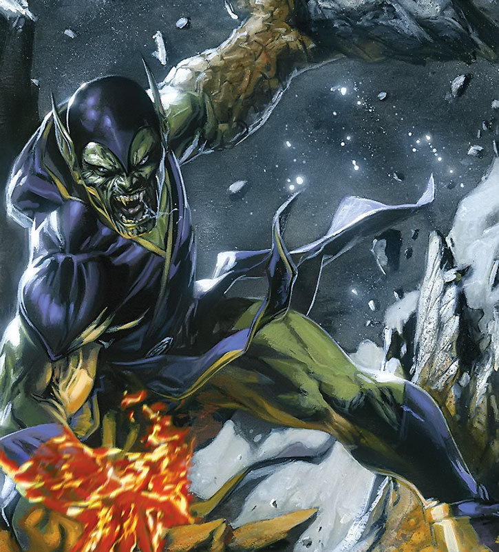 The Super-Skrull (painted art)