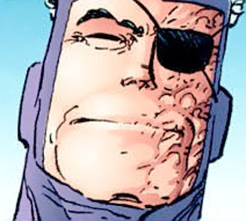 Super-Tough (Savage Dragon Comics) face closeup