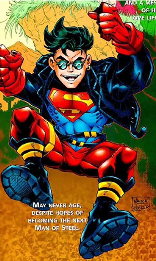 Superboy (Kon-El) (DC Comics) as the Metropolis Kid