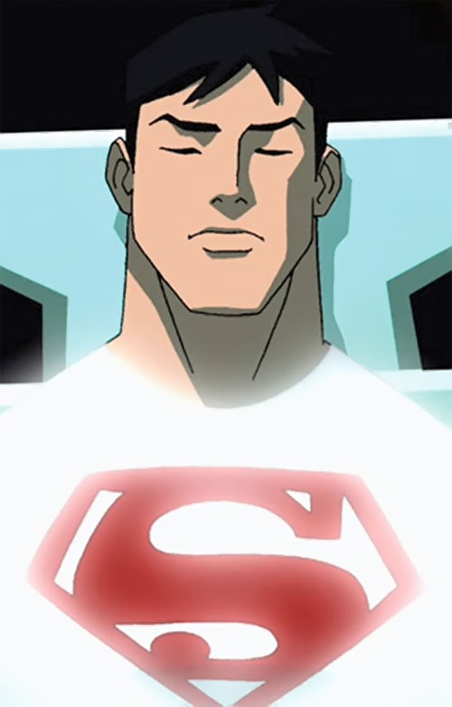 Superboy (Young Justice cartoon TV series) in suspended animation