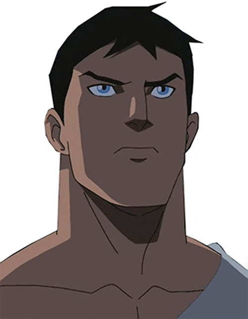 Superboy (Young Justice cartoon TV series) face closeup