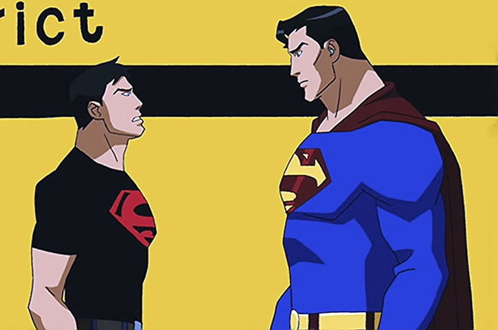 Superboy (Young Justice animated series) and Superman