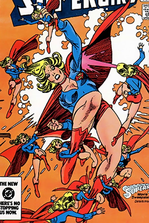 Supergirl vs. the Supergirl mini-replicants (DC Comics)