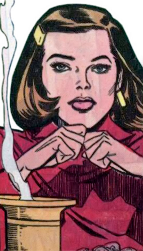 Supergirl as Linda Danvers during the 1980s (DC Comics)