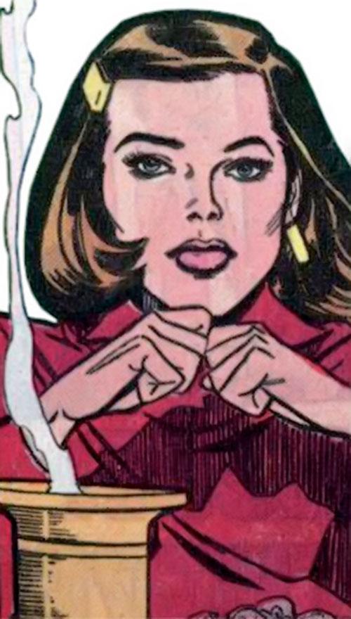 Supergirl as Linda Danvers during the 1980s (DC Comics)