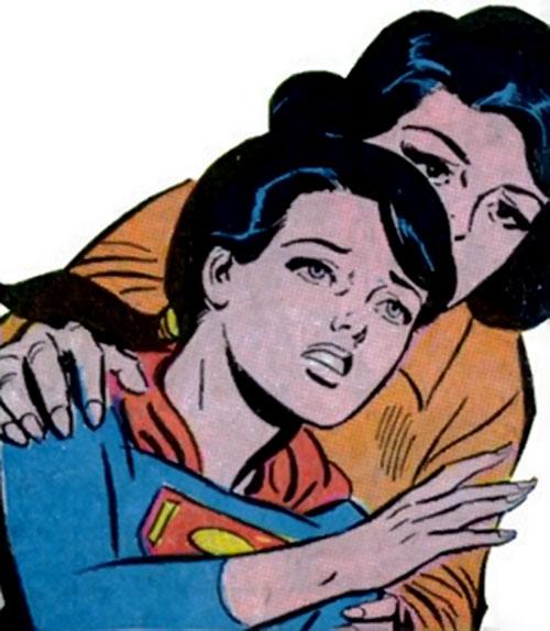 Superlass (Superman's daughter) (DC Comics) and Lois Lane