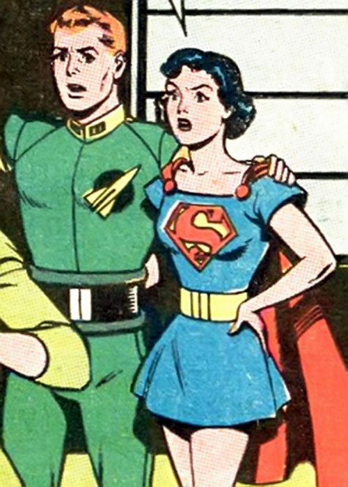 Supermaid (Superman's daughter) (DC Comics) and Jimmy Olsen's son