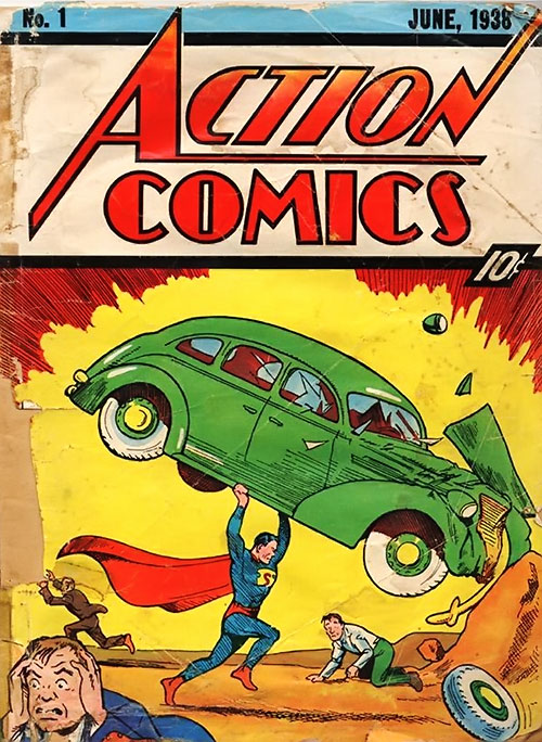 Action Comics #1 cover