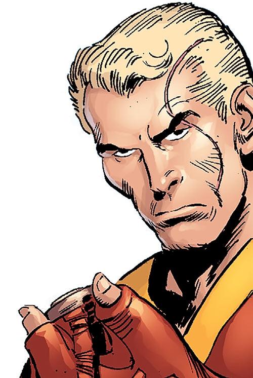 Superman (Imagine Stan Lee version) face closeup