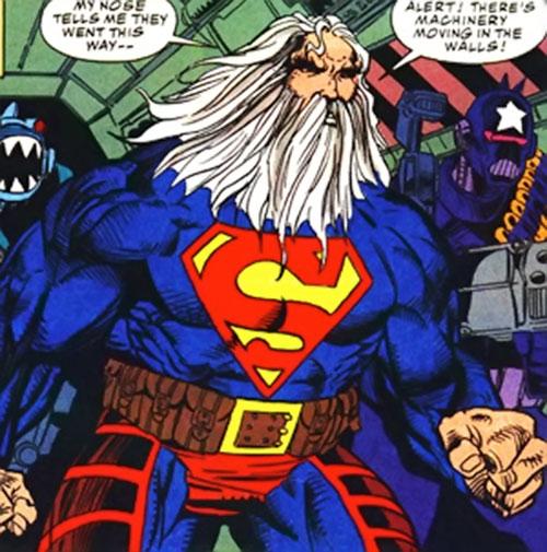 Superman in the 1993 Kamandi future