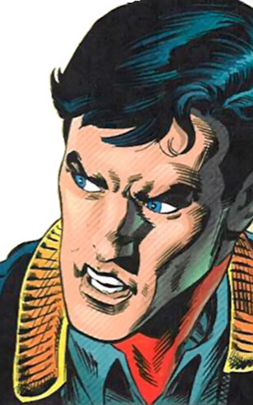 Superman One Million (DC Comics) face closeup