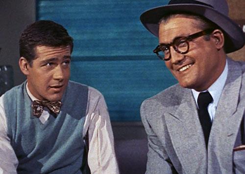Superman (George Reeves in Adventures of Superman) - Clark Kent and Jimmy Olsen
