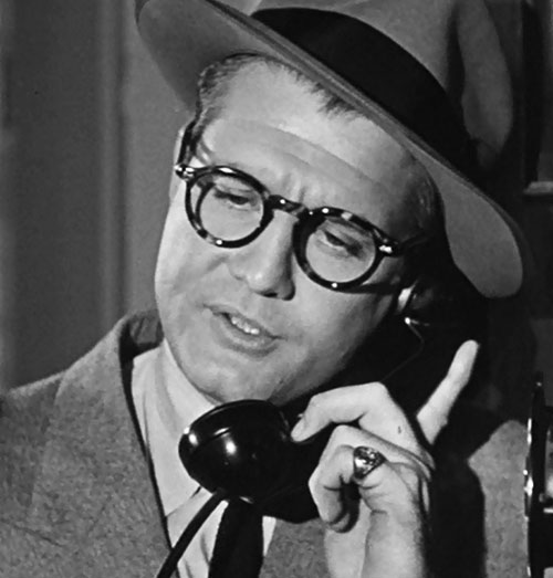 Superman (George Reeves in Adventures of Superman) hat and glasses closeup