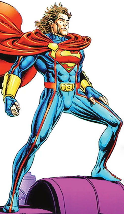 Superman (Kaleb) (Legends of the Dead Earth) standing