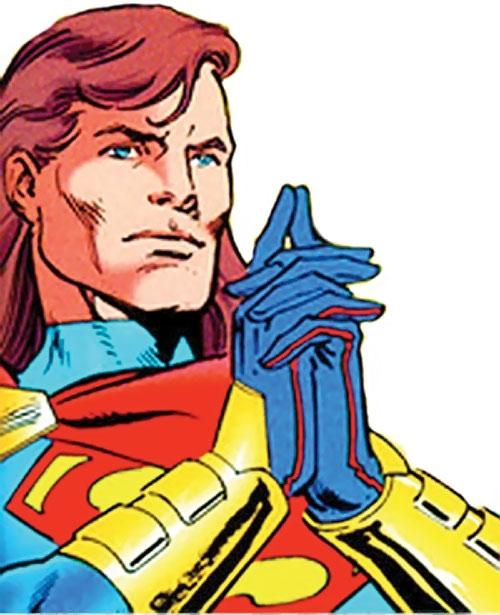Superman (Kaleb from Legends of the Dead Earth) (DC Comics) face closeup