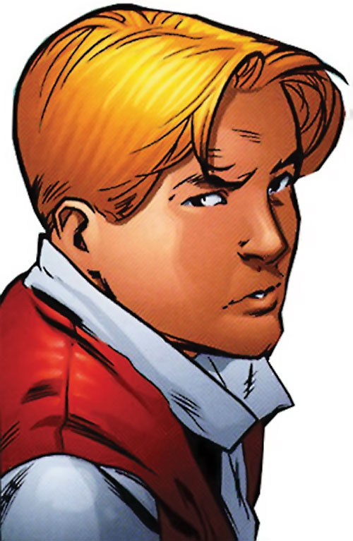 Superstar (Image Comics Busiek) face closeup