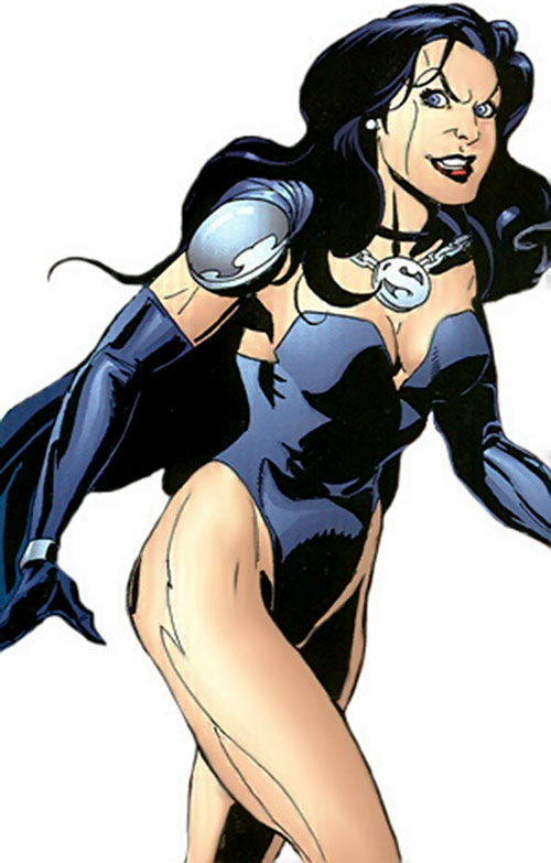 Superwoman (DC Comics) (Crime Syndicate) looking evil