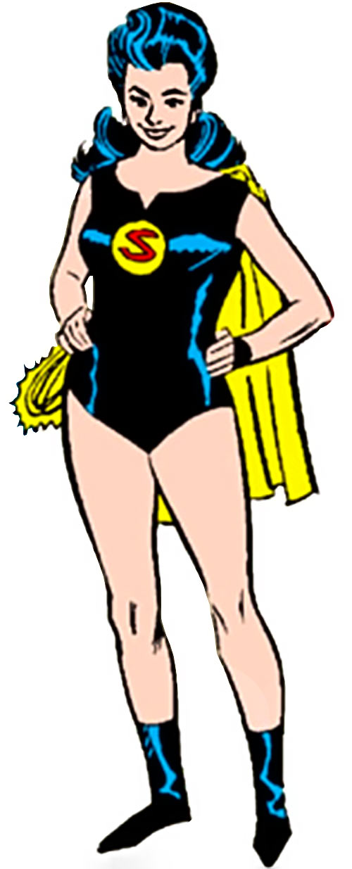 Superwoman of the pre-Crisis Crime Syndicate (DC Comics)