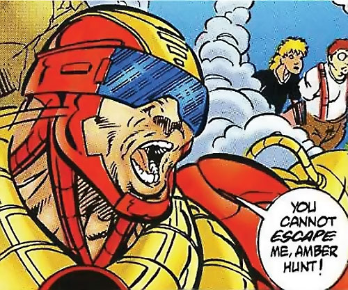 Supreme Soviet (Exiles enemy) (Ultraverse Malibu comics) closeup