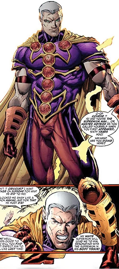 Supremium Man (Supreme enemy) (Image Comics Moore)