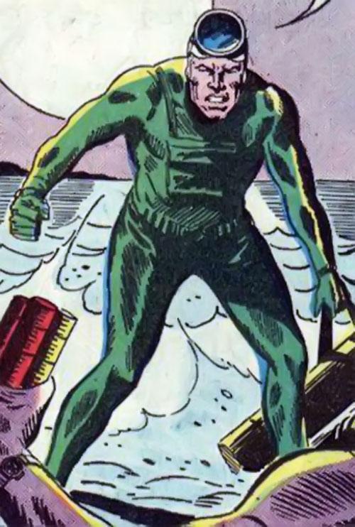 Swift Otter (Star-Spangled War Stories DC Comics) combat diver