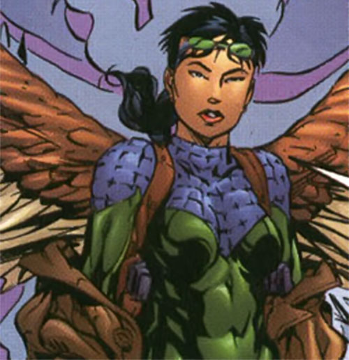 Swift of Stormwatch spreads her wings