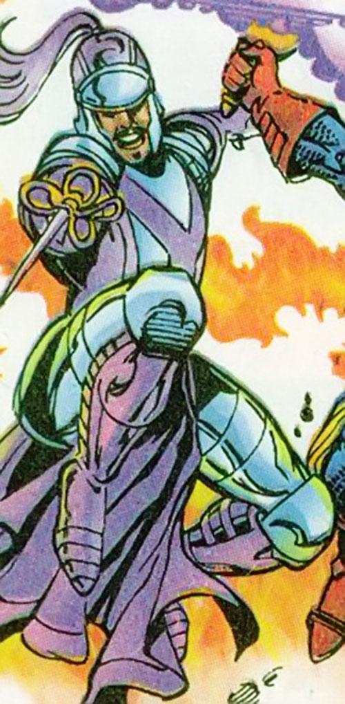 Swordsman (Jarvert) (Marvel Comics) as a Queen's Vengeance member
