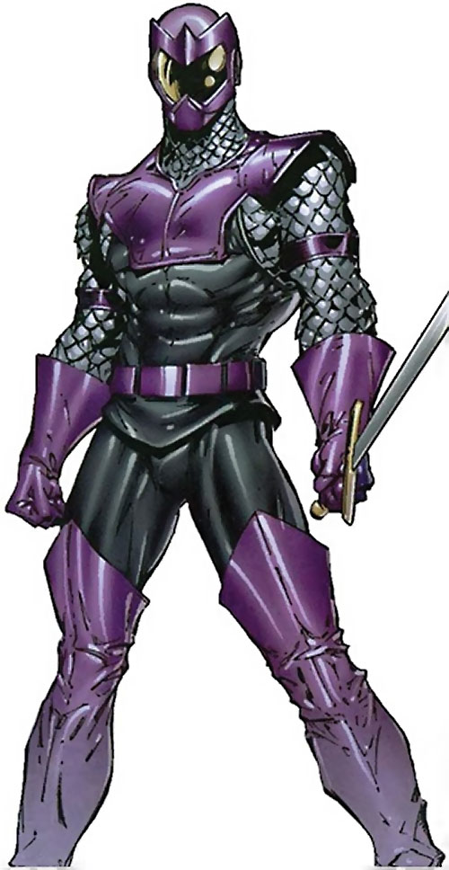 Swordsman of the Thunderbolts (Andreas Strucker) (Marvel Comics) with the scalemail costume