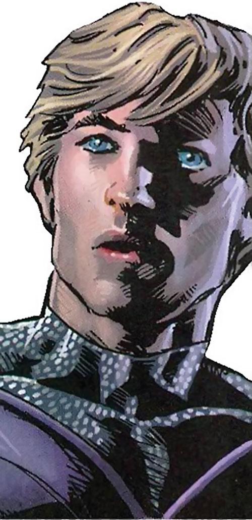 Swordsman of the Thunderbolts (Andreas Strucker) (Marvel Comics) face closeup