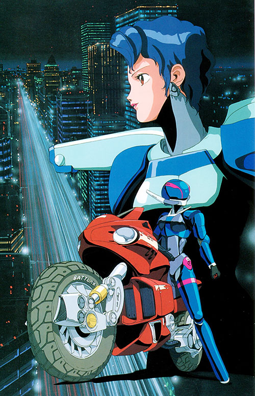Sylia Stingray (Bubblegum Crisis) and Megatokyo