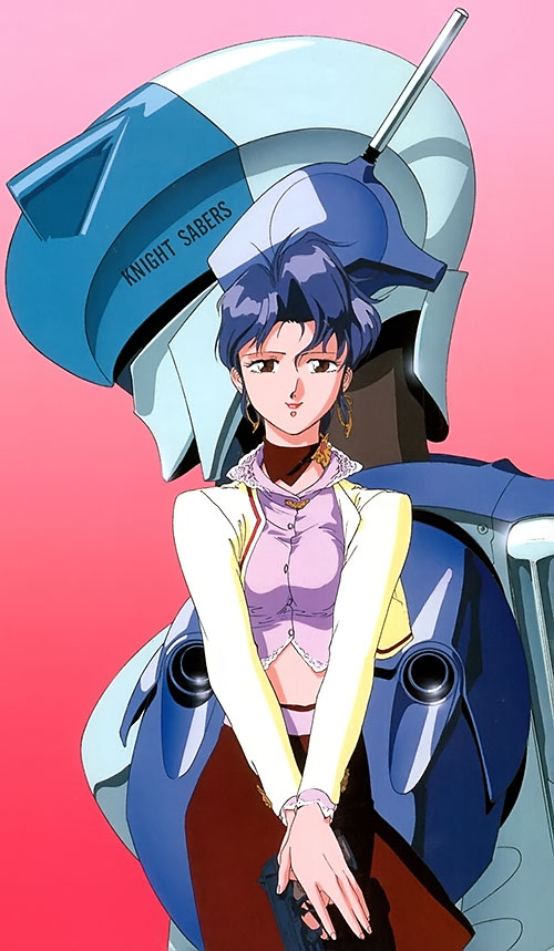 Sylia Stingray (Bubblegum Crisis)