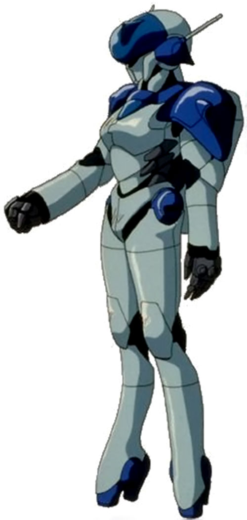 Sylia Stingray (Bubblegum Crisis) in her hardsuit