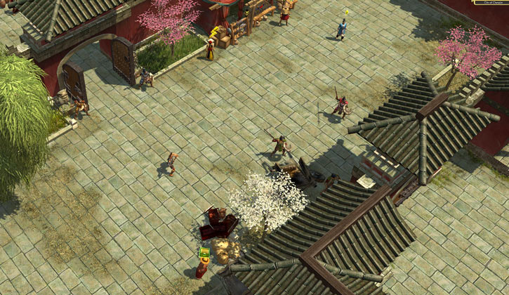Titan Quest landscape screenshot - Chang'An